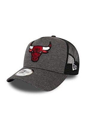 Chicago Bulls Shadow Tech Grey A-Frame Trucker Şapka 12285270