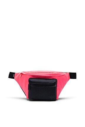 Neon Pink/Black Bel Çantası 10017-03549-Os