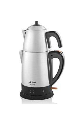 Ar3051 Çaycı Lux 1800 w Çelik Çay Makinesi
