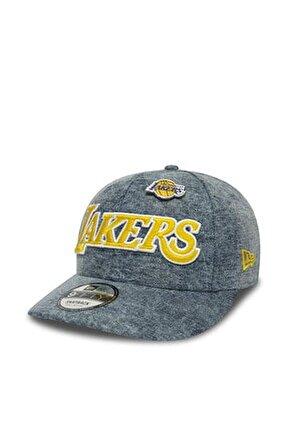 Nba Los Angeles Lakers Denim 9fıfty Snapback Şapka 12040360