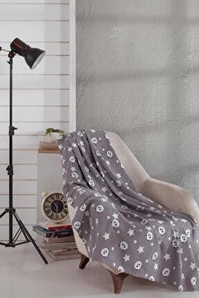Pamuklu Tv Battaniyesi Panda 130x170 Cm