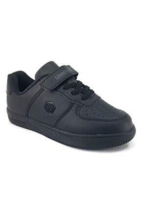 Fınster Günlük Çocuk Spor Ayakkabı-siyah