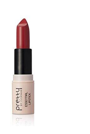 Pretty Essential Lipstick Fire Red 024