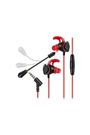 Mg-6 3,5mm Gaming Siyah/kırmızı Oyuncu Mikrofonlu Kulaklık