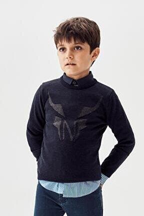 Erkek Çocuk Lacivert Kazak 20fw0nb3420