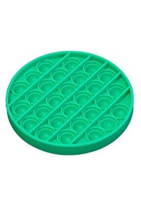Pop It Duyusal Oyuncak Özel Pop Stres Yuvarlak Yeşil 0611