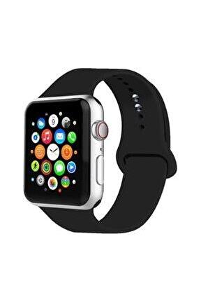 Apple Watch Kordon 2 3 4 5 Seri 42 Mm Ve 44 Mm Silikon Kordon Kayış