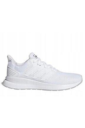 RUNFALCON K Beyaz Kız Çocuk Koşu Ayakkabısı 100479459