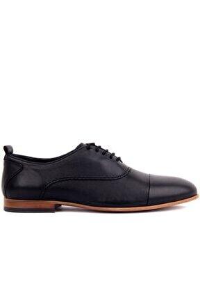 - Siyah Deri Erkek Ayakkabı