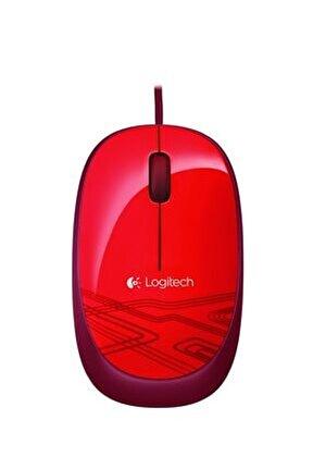M105 Optik Kablolu Mouse Kırmızı 910-002945