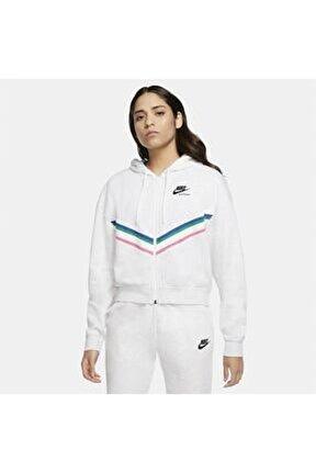 W Nsw Hrtg Fz Flc Kadın Sweatshirt