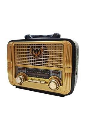 Rt-806bt Usb Sd Fm Bluetooth Nostaljik Radyo