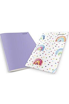 Watercolor Rainbows Planner & Notebook