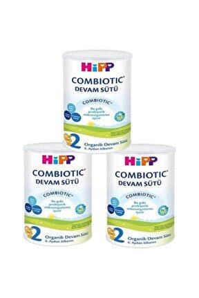 2 Organik Combiotic Devam Sütü 350 Gr - 3'lü