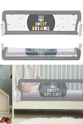 Sweet Dreams Ekstra Geniş Katlanabilir Yatak Bariyeri Korkuluğu 150cm