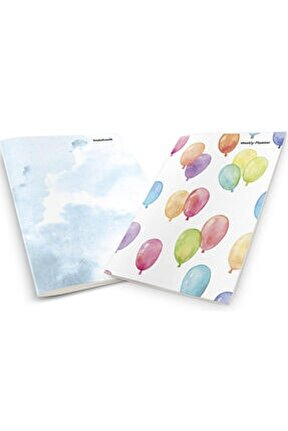 Colorful Balloons Planner & Notebook