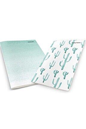 Watercolor Cactus Weekly Planner & Notebook
