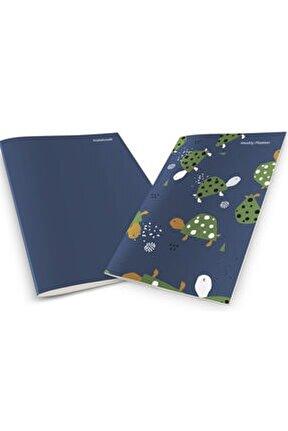 Colorful Turtles Weekly Planner & Notebook