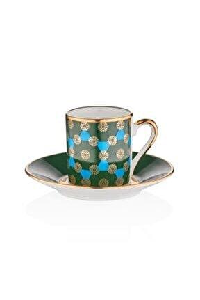 Firuze 6'lı Kahve Takımı M00749
