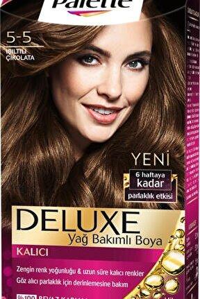 Saç Boyası Deluxe 5 5 Işıltılı Çikolata 50 ml