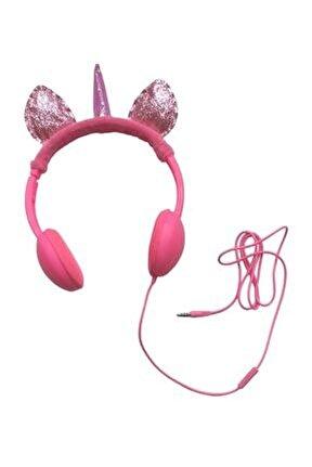 Unicorn Mikrofonlu Kulaklık Fuşya