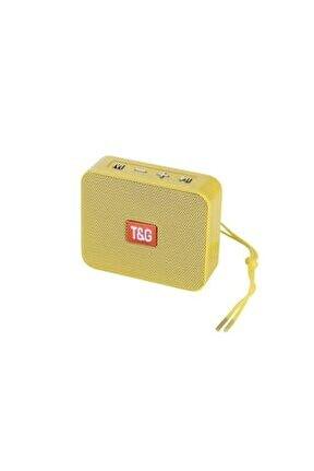 Bluetooth Hoparlör Kablosuz Speaker Ses Bombası 166 Sarı