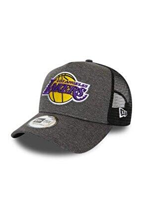Los Angeles Lakers Shadow Tech Grey A-Frame Trucker Şapka 12285268
