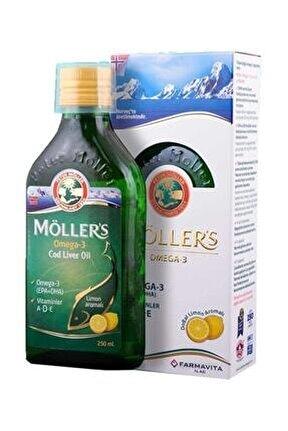 Möller's Omega3 -limon Aromalı- Balık Yağı Şurup 250ml Skt:03/22