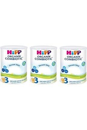 3 Organik Combiotic Devam Sütü 350 Gr - 3'lü