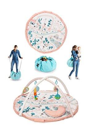 Toys 3in1 Parco Bebek Oyun Halısı ve Oyuncak Çantası