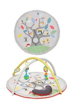 Toys Büyük Boy Serüven Bahçesi Eğitici Bebek Oyun Halısı
