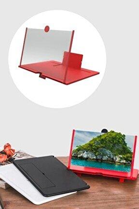 Taşınabilir Göz Yormayan 3d Cep Telefonu Mobil Tablet Hd Ekran Video Büyütücü Büyüteci