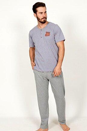 Erkek Kısa Kol Pijama Takım
