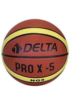 Pro X Deluxe Kauçuk 5 Numara Basketbol Topu