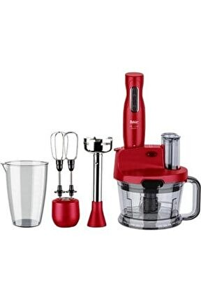 Mr Chef Quadro Blender Set Kırmızı