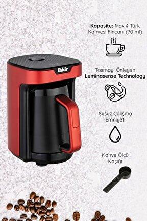 Kaave Mono Otomatik Türk Kahve Makinesi Rouge