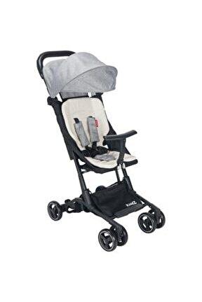 Gri Kz 3010 Mini S Bebek Arabası