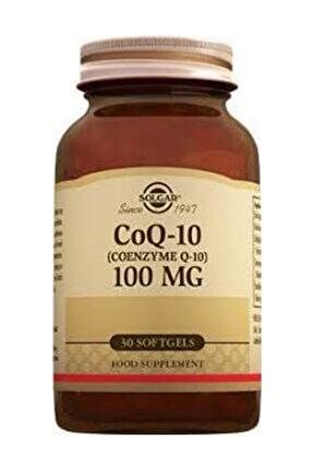 Coq-10 (Koenzim Q-10) 100 Mg. 30 Kapsül