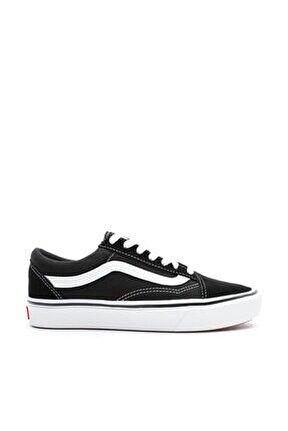UA ComfyCush Old Skool Unisex Siyah Sneaker VN0A3WMAVNE1