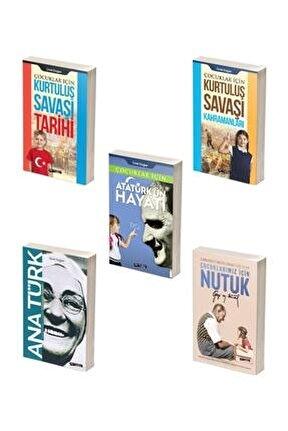 Çocuklar Için Atatürk Kitap Seti /5 Kitap