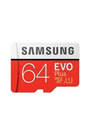 Micro Sd Evo Plus 64 GB Hafıza Kartı Adaptörlü MB-MC64HA/TR