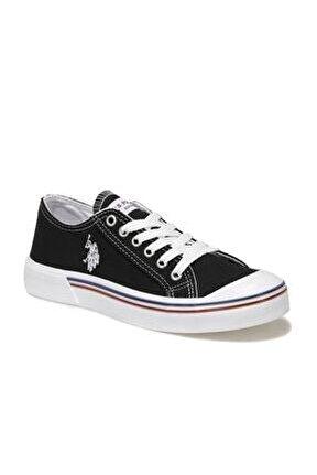 Kadın  Siyah Havuz Taban Sneaker 36-40