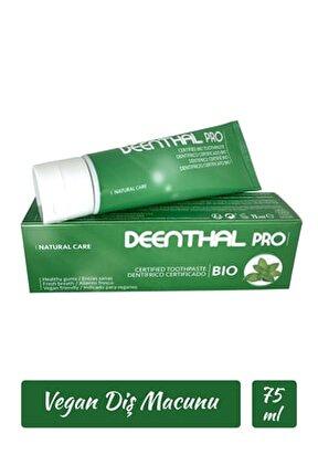Vegan Diş Macunu Doğal Diş Eti Koruyucu Ferahlatıcı Natural Toothpaste 75 Ml