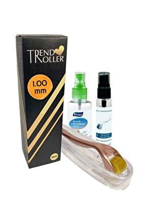 Dermaroller 1.00 mm Titanyum 540 İğne Orijinal Saç Yüz Derma Roller 6902540752644