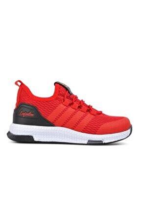 706 Kırmızı-siyah Çocuk Spor Ayakkabı