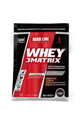 Whey 3matrix 30 gr Tek Kullanımlık Protein Tozu Çilek