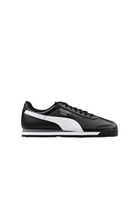 ROMA BASIC JR Siyah Beyaz Erkek Çocuk Sneaker 100185222