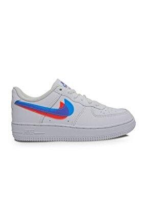 Force 1 Lv8 Ksa Beyaz Çocuk Spor Ayakkabı
