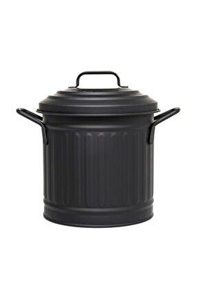 Tezgah Çöp Kovası 4 Lt- Siyah