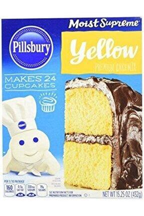 Pillsbury Moist Supreme Yellow Cake Mix 432 Gr